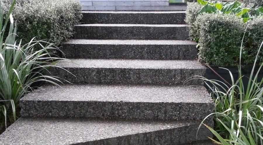 پله واش بتن